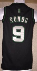 size 40 ca65d 259df Details about Rajon Rondo Boston Celtics Limited Edition Jersey Size YOUTH  Small by Adidas