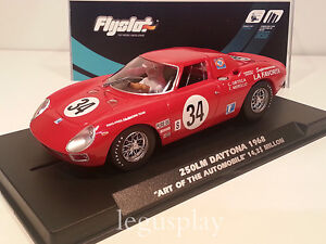 Slot-car-SCX-Scalextric-Flyslot-053107-250LM-Daytona-1968-ART-of-the-Automobile