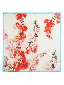 Joules Bloomfield Square Silk Scarf