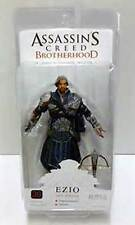 "Assassin's Creed Brotherhood Ezio Onyx Assassin sans masque/without mask 7"" NECA"