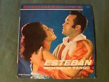 "ESTEBAN (Monsieur Tango) y su orquesta 25 cm 10"" LP DUCRETET-THOMSON 250 V 167"