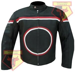 Custom-0113-BLACK-MOTORBIKE-MOTORCYCLE-BIKERS-COWHIDE-LEATHER-ARMOURED-JACKET