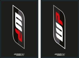 Autocollants-Stickers-Fourche-moto-epais-WP-Noir-KTM-SX-EXC-Husqvarna