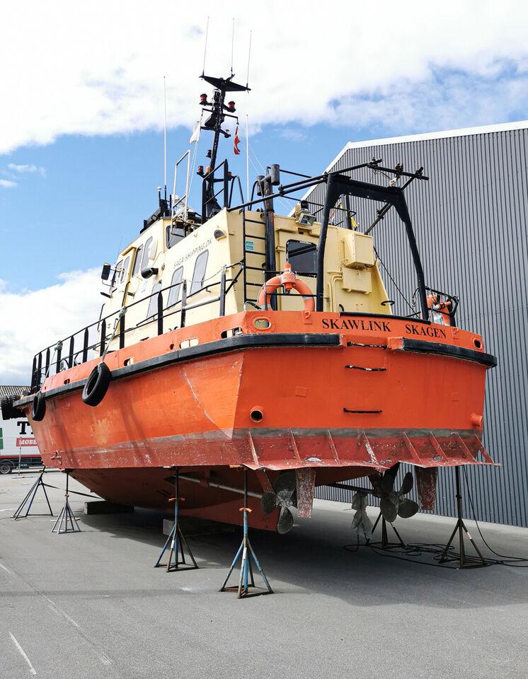 Norskbygget aluminiumskib