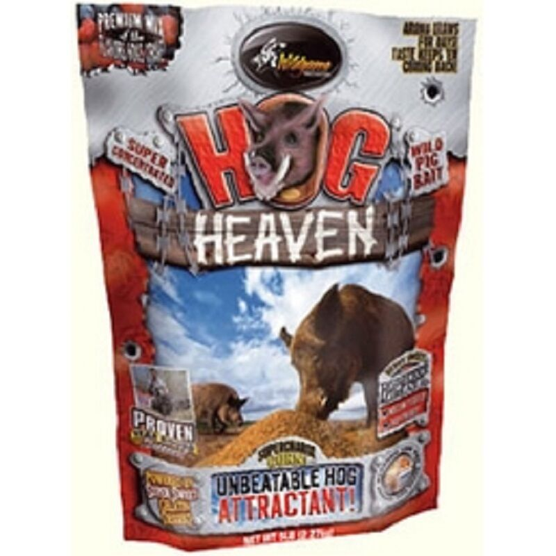 HOG HEAVEN FOR WILD BOAR   ATTRACTiVE FOR WILD ANIMALS  PADDED HUNTING  RIFLE