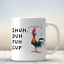 Chicken-Shuh-Duh-Fuh-Cup-Mug-11oz-Coffee-Mug-Funny-Gift-For-Chicken-Lovers miniature 1