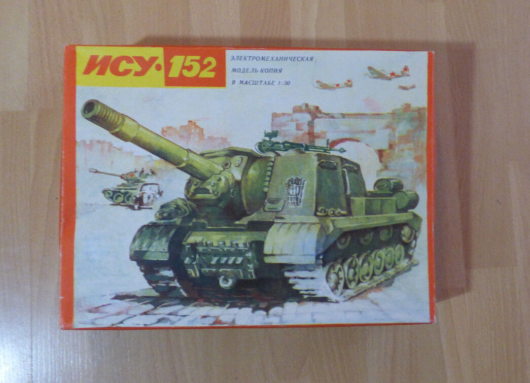 URSS électromécaniques modèle ISU 152, chars 1  30