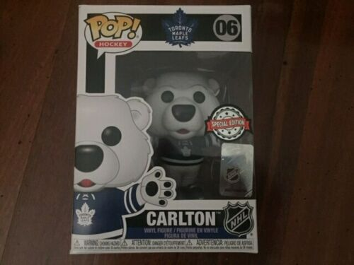 -FUN43069-FUNKO NHL: Maple Leafs Carlton the Bear US Exclusive Pop RS Vinyl