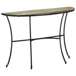 vidaXL Table d'Appoint Bois de Récupération Massif Table Console Couloir