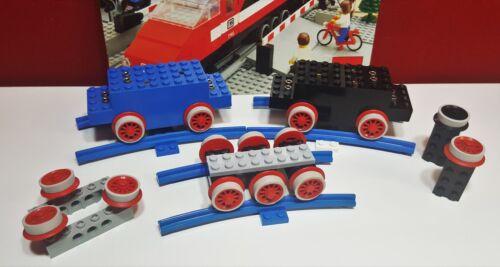 LEGO 138-HAFTREIFEN LEGO Eisenbahn-4,5V-138-LEGO HAFTREIFEN 30 Stück grau