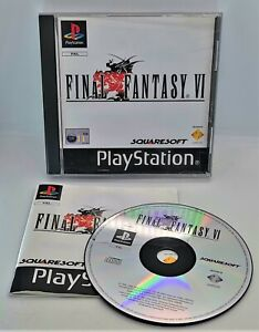 Final Fantasy VI 6 Video Game for Sony PlayStation PS1 PAL TESTED