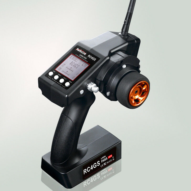 Radio Transmitter With Integrated Gyro Receiver Radiolink RC4GS 4-Channel 2.4ghz