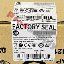 New Listing2020 2021 New Allen Bradley Micrologix 1400 32 Point Controller 1766 L32bxb