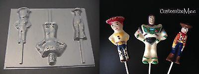 Toy Story Woody Buzz Potato Head Lollipop Chocolate Candy Soap Crayon Mold