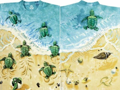 YTH S,M,L Ocean TURTLE BEACH-2 sided TIE DYE TSHIRT M-L-XL-XXL,3X-4X-5X-6X