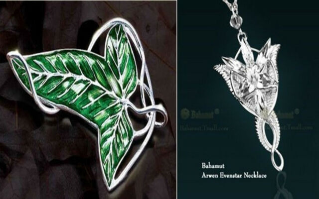 2 set lotr lord of the ringss elven leaf brooch arwen evenstar 2 set lotr lord of the ringss elven leaf brooch arwen evenstar pendant necklace aloadofball Choice Image
