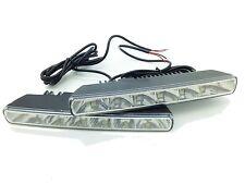 Universal 6 LED 18cm DRL Light Xenon White Daytime DRL For Nissan Qashqai