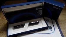 Pelikan M215 Black Lozenge Fountain Pen Discontinued (B nib)