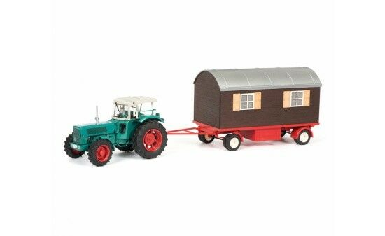 450780300 - Schuco Hanomag robust with Trailer - 1 32