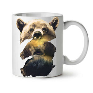 Bear Beast Wild Animal NEW White Tea Coffee Mug 11 oz | Wellcoda