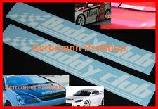 """2x 8.5"""" 21.6cm Buddy Club Decal Sticker for civic EG EK si ferio DC5 DC2 rsx fd2"""