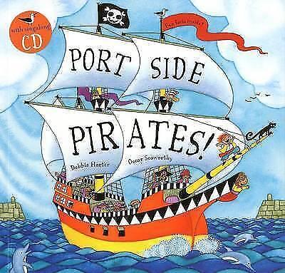1 of 1 - Port Side Pirates (Book & CD), Oscar Seaworthy, New Book