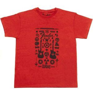Fender-Guitar-Formula-Youth-T-Shirt-limitiert-rot-XL