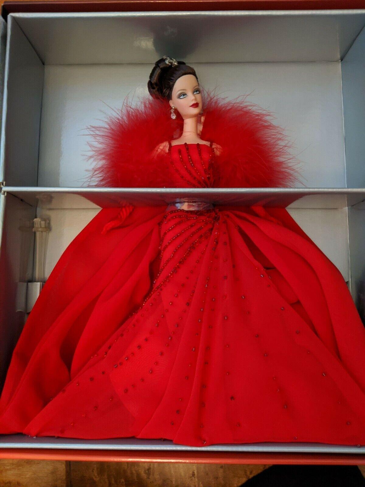 2000 Ferrari Barbie Doll in original packaging 29608