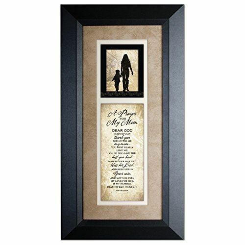 a Prayer for My Mom 8 X 16 Wood Wall Art Frame Plaque by James ...