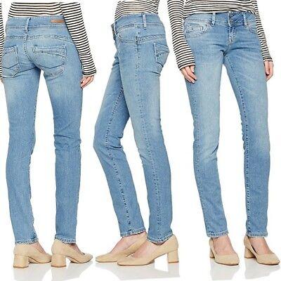 Cross Jeans Donna Pantalone Jeans Skinny Melissa Jeans Pantaloni Blu Light Blue 124-mostra Il Titolo Originale