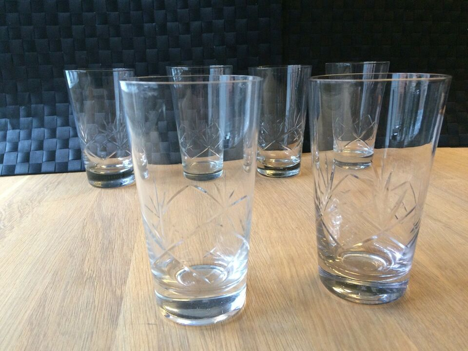 Glas, Ulla vandglas eller ølglas, Holmegaard