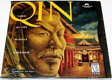 QIN: TOMB OF THE MIDDLE KINGDOM (PC) - CD in artwork case, 20-page manual   #14