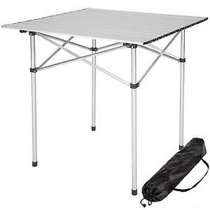 Aluminium-Campingtisch-Rolltisch-Klapptisch-Falttisch-Gartentisch-klappbar