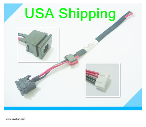 DC Power Jack in cable harness  for TOSHIBA SATELLITE A505-S6970 A505-S6980