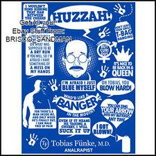 Fridge Fun Refrigerator Magnet ARRESTED DEVELOPMENT Tobias Funke Quotes Funny
