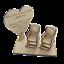 In-Loving-Memory-Mum-Sign-Wedding-Memorial-Personalised-Plaque-Table-Poem-Heart miniatura 44