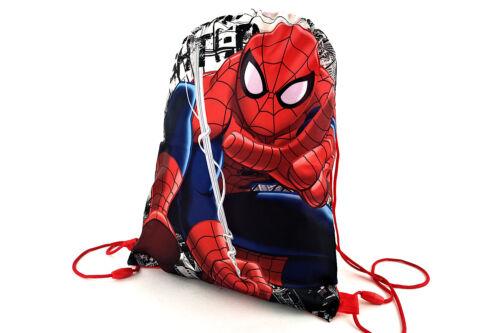 SPIDER-MAN zaino a sacca con chiusura coulisse originale MARVEL