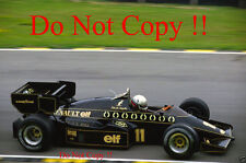 Elio De Angelis JPS Lotus 95T British Grand Prix 1984 Photograph 3