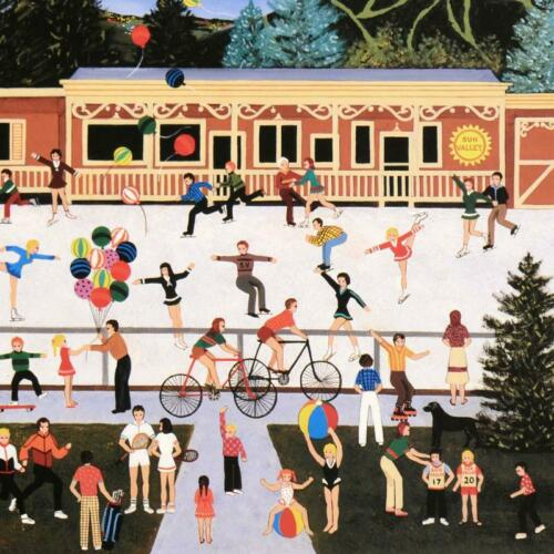 """Jane Wooster Scott /""""Summer Cheer/"""" Signed Limited Edition Lithograph on Paper"""