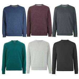 Ex-M-amp-S-Marks-and-Spencer-Mens-Cotton-Crew-Neck-Sweatshirt-Marks-amp-Spencer