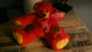 Bears Obedient Case' Mere Teddy By Rachel Radman Vintage Jointed Red Teddy Bear As Effectively As A Fairy Does Dolls & Bears