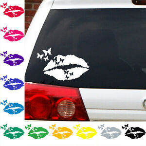 Butterfly-Kisses-decal-smooches-lips-lipstick-sticker-butterfly-love