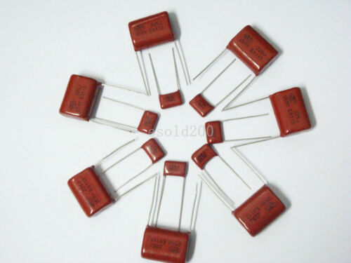 10PCS CBB 473J 100V CL21X 0.047UF 47NF P5 Metallized Film Capacitor