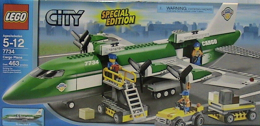 Lego Town City Cargo 7734 Cargo Plane New Sealed