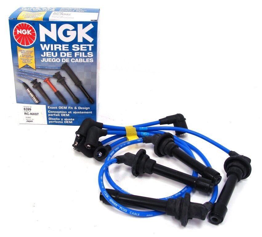 NGK 6399 NX07 Spark Plug Wire Set