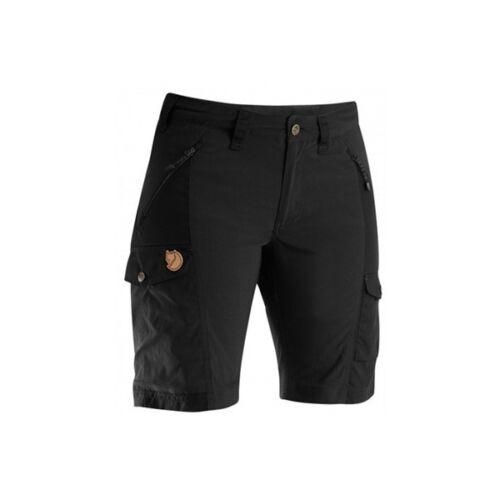 Fjäll Räven Nikka Damen Shorts  schwarz  G1000 mit Stretcheinsätzen