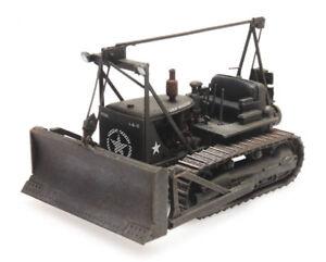 Ho-Roco-Minitanks-Patton-039-s-3rd-Armee-Bulldozer-A452-387-338-Main-Peint