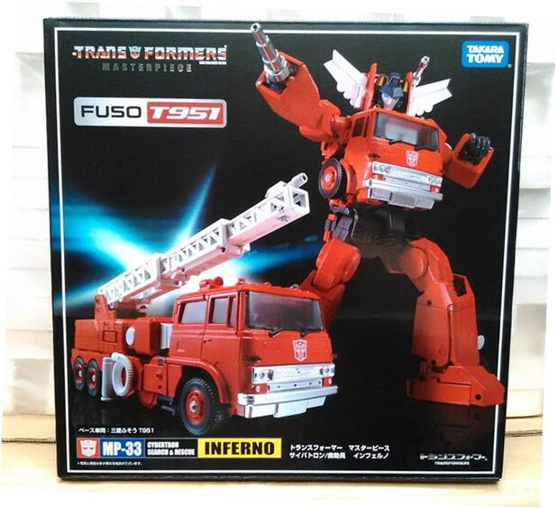 100% AUTHENTIC Takara Transformers Takara Masterpiece MP-33 G1 FUSO T951 Inferno