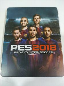Pes 2018 Pro Evolution Soccer Ausgabe Sagenfigur Steelbook - Set PS4 Pal