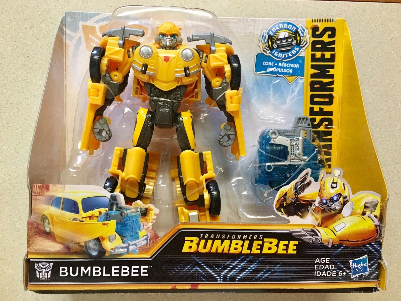 NEW Transformers Bumblebee VW Bettle Bug Energon Igniters BUMBLEBEE MSIB 2018